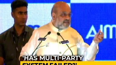"Multi-Party Democracy Gets ""F"" In Amit Shah's Report Card"