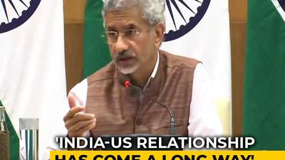 "India-US Relationship In ""Very Good Health"", Says Foreign Minister"