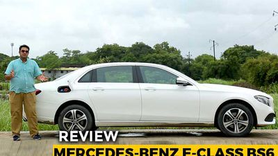 Mercedes-Benz E-Class BS6 Review