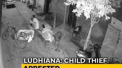 On Camera, Man Caught Trying To Kidnap Sleeping 4-Year-Old In Punjab