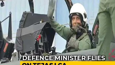 "Defence Minister Rajnath Singh ""All Set"" To Fly In Fighter Tejas"