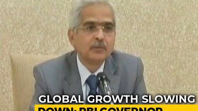 Little Space For Any Fiscal Expansion By Government: Shaktikanta Das