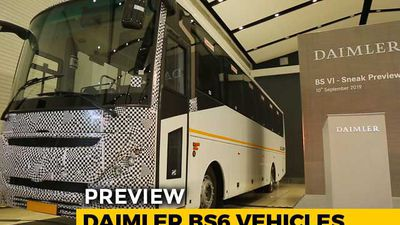 Daimler BS6 Vehicles Preview