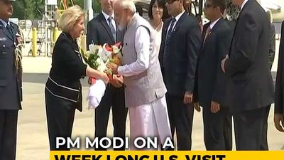"""Howdy, Modi!"": PM Arrives In Houston, Will Address Mega Event Tomorrow"