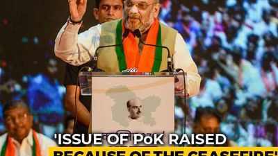 Jawaharlal Nehru Responsible for Pak-Occupied Kashmir, Says Amit Shah