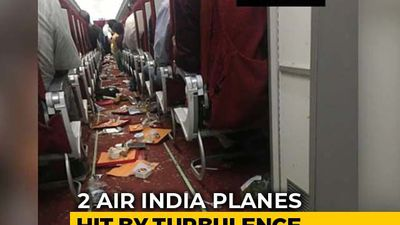2 Air India Planes Hit By Turbulence Damaged, Cabin Crew Injured