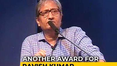NDTV's Ravish Kumar Wins Gauri Lankesh Award For Journalism