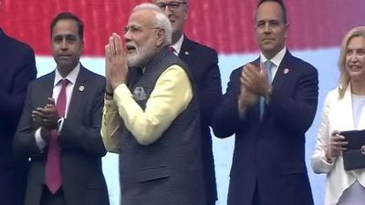 """Howdy, Modi!"": PM's Rockstar Welcome In Houston"