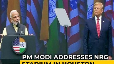 PM Modi Addresses Packed 'Howdy, Modi!' Event In US, Donald Trump Attends