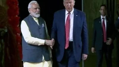 """Abki Baar Trump Sarkar"": PM Modi's Reminder To Indians In Houston"