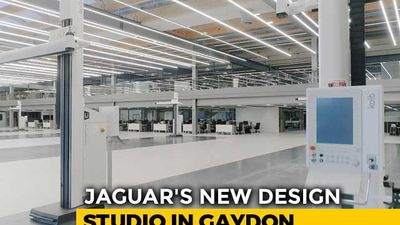 Jaguar's New Design Studio In Gaydon