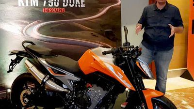 First Look - KTM Duke 790