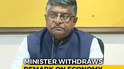 """Twisted But..."": Minister On ""Rs. 120 Crore-A-Day"" Remark On Economy"