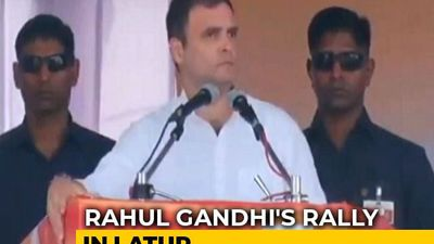 When Youth Ask For Jobs, Government Tells Them To Watch Moon: Rahul Gandhi