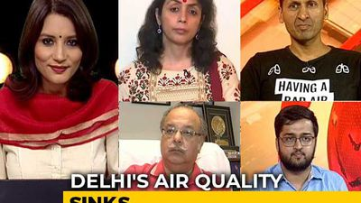 Polluted Air Back In Delhi