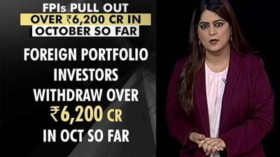 Foreign Portfolio Investors Pulled Out Over 6,200 Crores In Just 2 Weeks