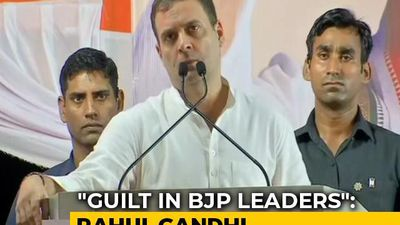 """Guilt In BJP Leaders"": Rahul Gandhi Invokes Rafale In Maharashtra Rally"