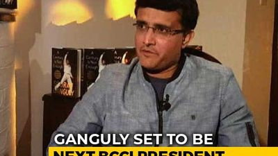 Sourav Ganguly Set To Be Next BCCI President
