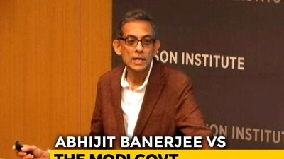 How Nobel Winner Abhijit Banerjee Described State Of Indian Economy