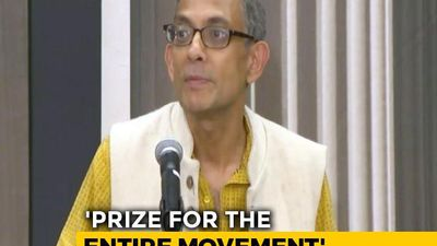 Abhijit Banerjee's Reaction After Winning The Economics Nobel