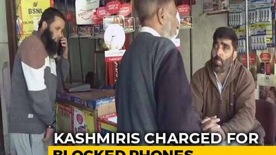 Kashmiris Charged For Blocked Phones, Services Stopped For Unpaid Bills