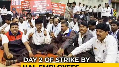 "Over 20,000 HAL Staff On Indefinite Strike As ""Wage Revision"" Talks Fail"