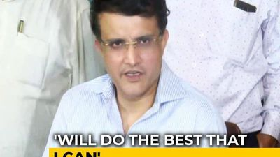 """Emergency Like Situation"": Sourav Ganguly On Becoming BCCI President"