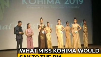 """Focus On Women Instead Of Cows"": Miss Kohima Contestant's Message For PM Modi"