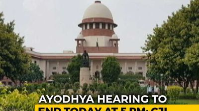 """Enough Is Enough"", Ayodhya Hearing To End At 5 pm, Says Chief Justice"