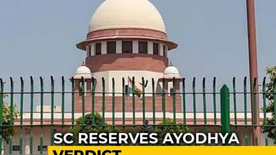 Ayodhya Case: Daily Hearings In Supreme Court End, Verdict Reserved