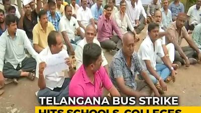 BJP Takes Telangana Transport Employees' Strike Issues With Governor