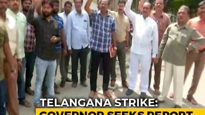 No End To Transport Strike, Telangana Governor Steps In After Meeting PM