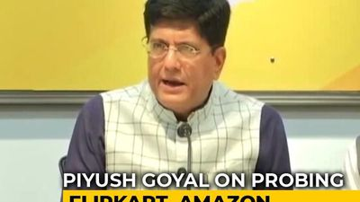 Piyush Goyal Suggests 'Probe' Against Amazon, Flipkart Discounts