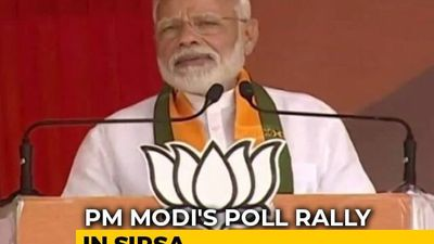 """PM Narendra Modi Sharpens Attack On Congress Over Article 370, Says It Led To """"Systematic Failure"""""""