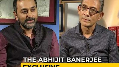 """I'm Not Partisan In My Thinking"": Nobel Winner Abhijit Banerjee To NDTV"
