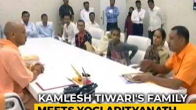 Kamlesh Tiwari's Family Meets Yogi Adityanath, Demands Capital Punishment