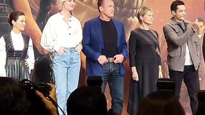 Meet Arnold And The Rest Of The Cast Of Terminator Dark Fate