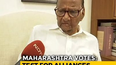 """No Question Of Being In Opposition"": Sharad Pawar To NDTV On Voting Day"