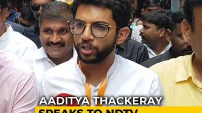 Aaditya Thackeray On Low Voter Turnout In Mumbai