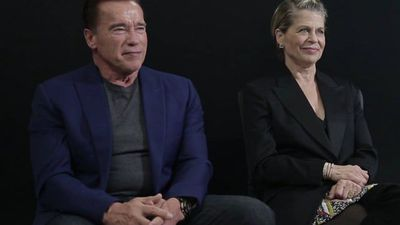 Arnold Schwarzenegger And Linda Hamilton On Terminator: Dark Fate
