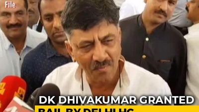 Jailed Congress Leader DK Shivakumar Gets Bail In Money Laundering Case