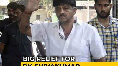 Congress's DK Shivakumar Walks Out of Tihar Jail Hours After Getting Bail
