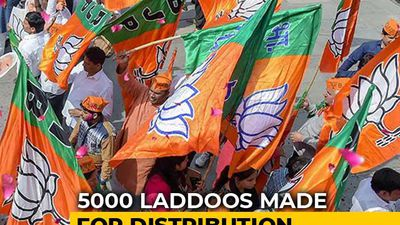 Confident Of Win, Maharashtra BJP Orders 5,000 Laddoos Ahead Of Counting