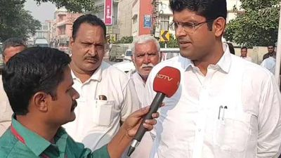 """The Key To Haryana Assembly Is With JJP"": Dushyant Chautala To NDTV"