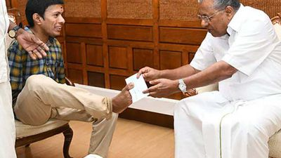 On 21st Birthday, Man With Disability Donates To Kerala Relief Fund