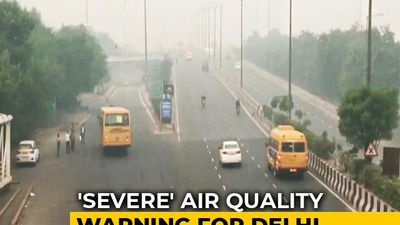 "Air Quality In Delhi Slips To ""Severe"" Category Again"