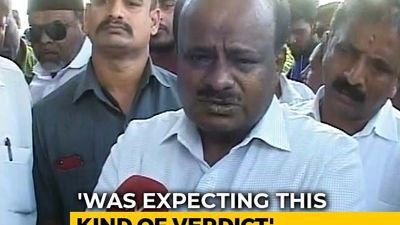 Disappointed By Verdict On Disqualified Karnataka MLAs: HD Kumaraswamy