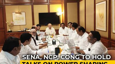 In Sena, NCP's Maharashtra Talks, A Power Share Blueprint, And A Surprise