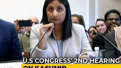 """There Is No India Without Kashmir"": Indian Columnist At US Congress"