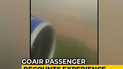 On Camera, GoAir Plane Strays, Takes Off From Grass. Engine Stalled Twice
